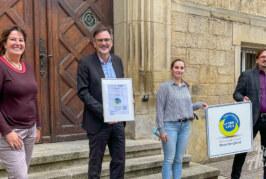 """""""Work Life Plus"""": Stadt Rinteln erneut als fairer Arbeitgeber ausgezeichnet"""