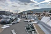 Porta Westfalica: Gebäudewand auf über 50 Metern Länge eingestürzt