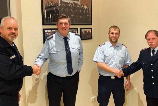 Feuerwehr Uchtdorf: Ortsbrandmeister Marlon Sievert wiedergewählt