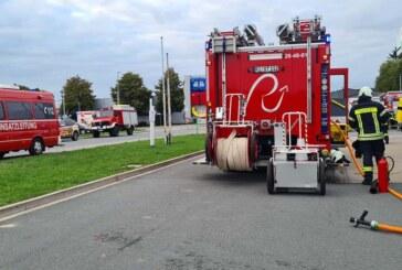 Feuerwehreinsatz im Industriegebiet Rinteln-Süd: Autogas aus Tank ausgetreten