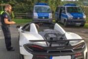 Polizeikontrolle in Wennenkamp: 76 Krafträder und 1 McLaren Sportwagen überprüft