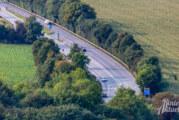 A 2: Teil- und Vollsperrung der Anschlussstelle Bad Eilsen