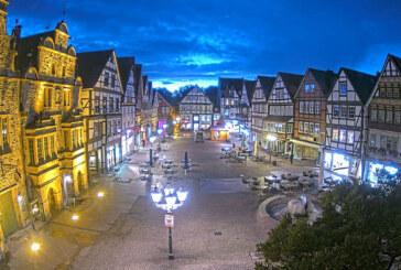 Neue Webcam liefert hochauflösende Bilder vom Rintelner Marktplatz