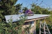 Schäfchen im Trockenen: NABU saniert Weideunterstand in Hohenrode