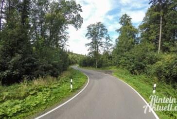Keine Rüttelstreifen auf der K77 Uchtdorf bis Wennenkamp