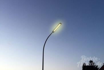 Nächtliche Straßenbeleuchtung: Ortsräte sollen entscheiden