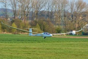 Rintelner Segelflieger beim 50. Hahnweide Wettbewerb